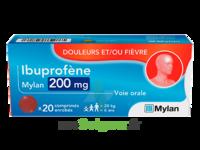 Ibuprofene Mylan 200 Mg, Comprimé Enrobé à SAINT-GEORGES-SUR-BAULCHE