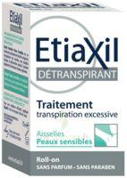 Etiaxil Aisselles Détranspirant Peau Sensibles Roll-on/15ml à SAINT-GEORGES-SUR-BAULCHE