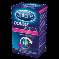 Optone Double Action Solution Oculaire Yeux Secs Fl/10ml à SAINT-GEORGES-SUR-BAULCHE