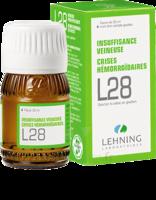 Lehning L28 Solution Buvable Fl/30ml à SAINT-GEORGES-SUR-BAULCHE
