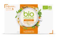 Nutrisanté Infusions Bio Tisane Digestion 20 Sachets à SAINT-GEORGES-SUR-BAULCHE