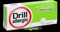 Drill 10 Mg Comprimés à Sucer Allergie Cétirizine Plq/7 à SAINT-GEORGES-SUR-BAULCHE