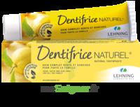 Lehning Pâte Dentifrice Homéopathique Citron T/80g à SAINT-GEORGES-SUR-BAULCHE