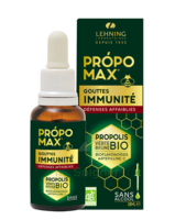 Lehning Propomax Immunité Propolis Verte Bio Extrait Sans Alcool Fl/30ml à SAINT-GEORGES-SUR-BAULCHE