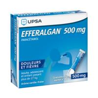 Efferalgan 500 Mg Glé En Sachet Sach/16 à SAINT-GEORGES-SUR-BAULCHE