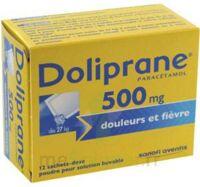 Doliprane 500 Mg Poudre Pour Solution Buvable En Sachet-dose B/12 à SAINT-GEORGES-SUR-BAULCHE