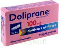 Doliprane 100 Mg Suppositoires Sécables 2plq/5 (10) à SAINT-GEORGES-SUR-BAULCHE