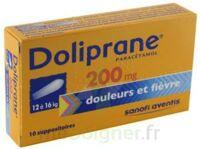Doliprane 200 Mg Suppositoires 2plq/5 (10) à SAINT-GEORGES-SUR-BAULCHE