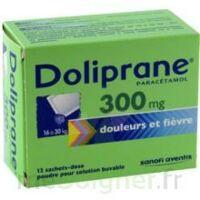Doliprane 300 Mg Poudre Pour Solution Buvable En Sachet-dose B/12 à SAINT-GEORGES-SUR-BAULCHE