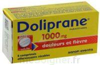 Doliprane 1000 Mg Comprimés Effervescents Sécables T/8 à SAINT-GEORGES-SUR-BAULCHE