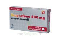 Ibuprofene Arrow Conseil 400 Mg, Comprimé Pelliculé à SAINT-GEORGES-SUR-BAULCHE