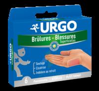 URGO BRULURES-BLESSURES PETIT FORMAT x 6 à SAINT-GEORGES-SUR-BAULCHE