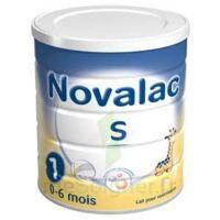 Novalac S 1 Lait En Poudre Satiétant 1er âge B/800g à SAINT-GEORGES-SUR-BAULCHE