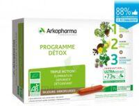 Arkofluide Bio Ultraextract Coffret Programme Détox 3x10 Ampoules/10ml à SAINT-GEORGES-SUR-BAULCHE