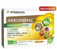 Arkoroyal Immunité Fort Solution Buvable 20 Ampoules/10ml à SAINT-GEORGES-SUR-BAULCHE