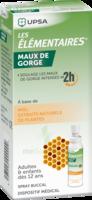 Les Elementaires Solution Buccale Maux De Gorge Adulte 30ml à SAINT-GEORGES-SUR-BAULCHE