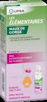 Les Elementaires Spray Buccal Maux De Gorge Enfant Fl/20ml à SAINT-GEORGES-SUR-BAULCHE