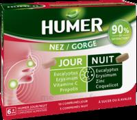 Humer Nez/gorge Jour&nuit 15 Comprimés à SAINT-GEORGES-SUR-BAULCHE