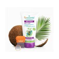 Puressentiel Anti-poux Shampooing Masque Traitant 2 En 1 Anti-poux Avec Peigne - 150 Ml