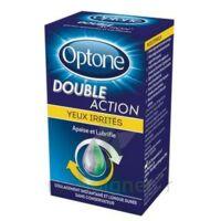 Optone Double Action Solution Oculaire Yeux Irrités Fl/10ml à SAINT-GEORGES-SUR-BAULCHE