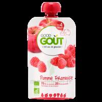 Good Goût Alimentation Infantile Pomme Framboise Gourde/120g