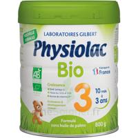 Physiolac Bio Lait 3éme Age 800g à SAINT-GEORGES-SUR-BAULCHE