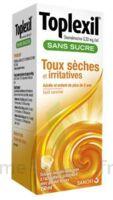 Toplexil 0,33 Mg/ml Sans Sucre Solution Buvable 150ml à SAINT-GEORGES-SUR-BAULCHE
