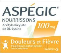 Aspegic Nourrissons 100 Mg, Poudre Pour Solution Buvable En Sachet-dose à SAINT-GEORGES-SUR-BAULCHE