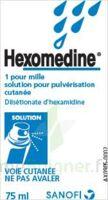 HEXOMEDINE 1 POUR MILLE, solution pour pulvérisation cutanée en flacon pressurisé à SAINT-GEORGES-SUR-BAULCHE