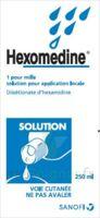 HEXOMEDINE 1 POUR MILLE S appl loc Fl/250ml à SAINT-GEORGES-SUR-BAULCHE