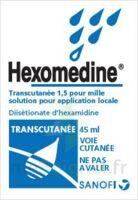 Hexomedine Transcutanee 1,5 Pour Mille, Solution Pour Application Locale à SAINT-GEORGES-SUR-BAULCHE