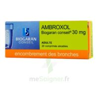Ambroxol Biogaran Conseil 30 Mg, Comprimé Sécable à SAINT-GEORGES-SUR-BAULCHE