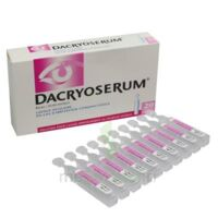 Dacryoserum Solution Pour Lavage Ophtalmique En Récipient Unidose 20unidoses/5ml à SAINT-GEORGES-SUR-BAULCHE