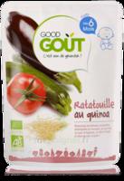 Good Gout Plats Ratatouille Au Quinoa  Bio Des 6 Mois 190 G