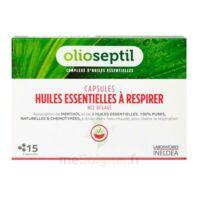 Olioseptil - Capsules Huiles Essentielles à Respirer - Nez Dégagé à SAINT-GEORGES-SUR-BAULCHE