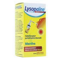 LysopaÏne Ambroxol 17,86 Mg/ml Solution Pour Pulvérisation Buccale Maux De Gorge Sans Sucre Menthe Fl/20ml à SAINT-GEORGES-SUR-BAULCHE