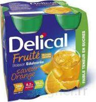 Delical Boisson Fruitee Nutriment édulcoré Orange 4bouteilles/200ml à SAINT-GEORGES-SUR-BAULCHE