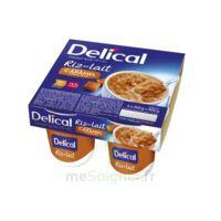 Delical Riz Au Lait Nutriment Caramel Pointe De Sel 4pots/200g à SAINT-GEORGES-SUR-BAULCHE
