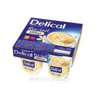 Delical Riz Au Lait Nutriment Vanille 4pots/200g à SAINT-GEORGES-SUR-BAULCHE