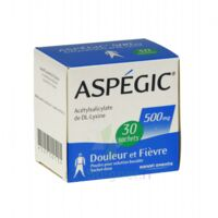 Aspegic 500 Mg, Poudre Pour Solution Buvable En Sachet-dose 30 à SAINT-GEORGES-SUR-BAULCHE