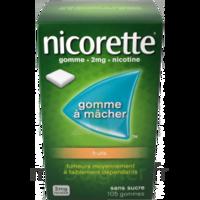 Nicorette 2 Mg Gomme à Mâcher Médicamenteuse Sans Sucre Fruits Plq/30 à SAINT-GEORGES-SUR-BAULCHE