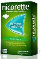 Nicorette 2 Mg Gom à Mâcher Médic Sans Sucre Menthe Fraîche Plq/30gom à SAINT-GEORGES-SUR-BAULCHE