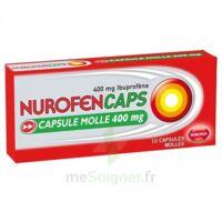 Nurofencaps 400 Mg Caps Molle Plq/10 à SAINT-GEORGES-SUR-BAULCHE