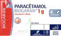 Paracetamol Biogaran 1 G, Comprimé Fl/8 à SAINT-GEORGES-SUR-BAULCHE