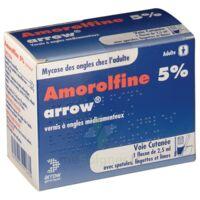 Amorolfine Arrow 5 % V Ongles Médicamenteux 1fl/2,5ml+30spat à SAINT-GEORGES-SUR-BAULCHE
