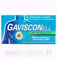 Gavisconell Coprimés à Croquer Sans Sucre Menthe édulcoré à L'aspartam Et à L'acésulfame Potas Plq/24 à SAINT-GEORGES-SUR-BAULCHE