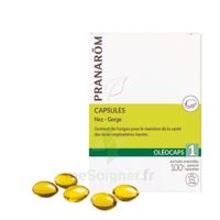 Pranarom Oleocaps 1 Caps Nez Gorge Oreilles à SAINT-GEORGES-SUR-BAULCHE