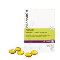 Pranarom Oleocaps 7 Caps Sommeil & Stress Passager à SAINT-GEORGES-SUR-BAULCHE