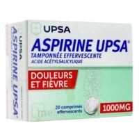 Aspirine Upsa Tamponnee Effervescente 1000 Mg, Comprimé Effervescent à SAINT-GEORGES-SUR-BAULCHE