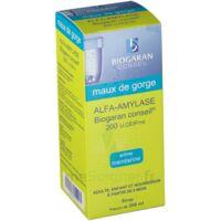 Alfa-amylase Biogaran Conseil 200 U.ceip/ml, Sirop à SAINT-GEORGES-SUR-BAULCHE